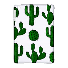 Cactuses pattern Apple iPad Mini Hardshell Case (Compatible with Smart Cover)