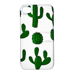 Cactuses pattern Apple iPhone 4/4S Hardshell Case with Stand