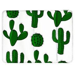 Cactuses pattern Samsung Galaxy Tab 7  P1000 Flip Case