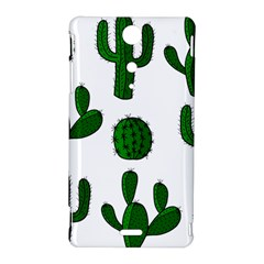 Cactuses pattern Sony Xperia TX