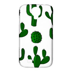 Cactuses pattern Samsung Galaxy S4 Classic Hardshell Case (PC+Silicone)