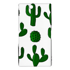 Cactuses pattern Sony Xperia Z Ultra