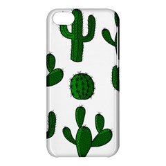 Cactuses pattern Apple iPhone 5C Hardshell Case