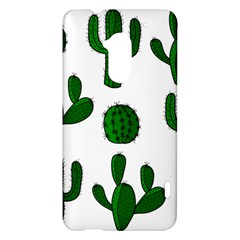 Cactuses pattern HTC One Max (T6) Hardshell Case