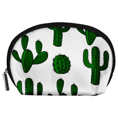 Cactuses pattern Accessory Pouches (Large)