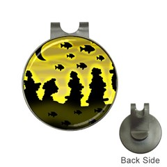 Khazar s dream  Hat Clips with Golf Markers