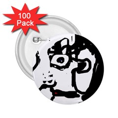 Old man 2.25  Buttons (100 pack)