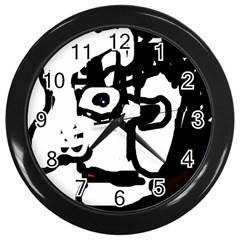 Old man Wall Clocks (Black)