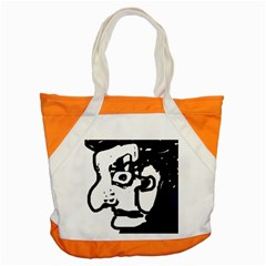 Old man Accent Tote Bag