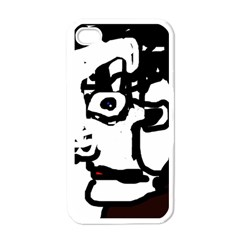 Old man Apple iPhone 4 Case (White)