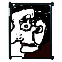 Old man Apple iPad 2 Case (Black)