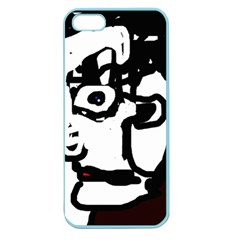 Old man Apple Seamless iPhone 5 Case (Color)
