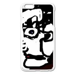 Old man Apple iPhone 6 Plus/6S Plus Enamel White Case