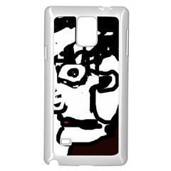 Old man Samsung Galaxy Note 4 Case (White)