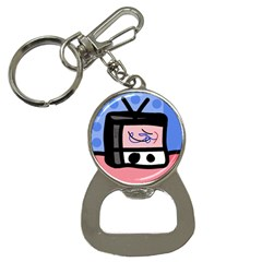 Old television Bottle Opener Key Chains