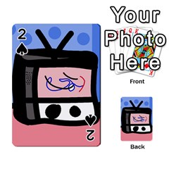 Old television Playing Cards 54 Designs