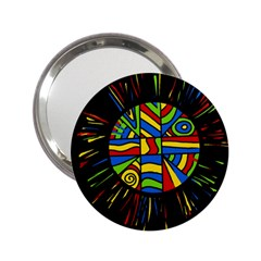 Colorful bang 2.25  Handbag Mirrors