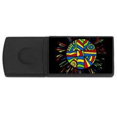 Colorful bang USB Flash Drive Rectangular (4 GB)