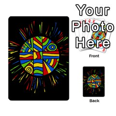 Colorful bang Multi-purpose Cards (Rectangle)