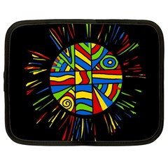 Colorful bang Netbook Case (XL)