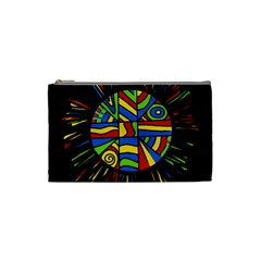 Colorful bang Cosmetic Bag (Small)