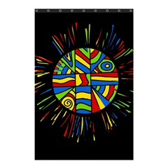Colorful bang Shower Curtain 48  x 72  (Small)