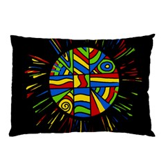 Colorful bang Pillow Case (Two Sides)