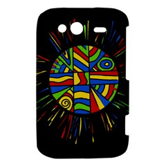 Colorful bang HTC Wildfire S A510e Hardshell Case