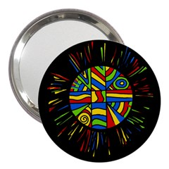 Colorful bang 3  Handbag Mirrors