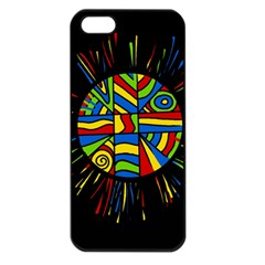 Colorful bang Apple iPhone 5 Seamless Case (Black)