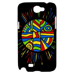 Colorful bang Samsung Galaxy Note 2 Hardshell Case