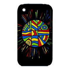 Colorful Bang Apple Iphone 3g/3gs Hardshell Case (pc+silicone)