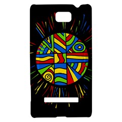 Colorful bang HTC 8S Hardshell Case