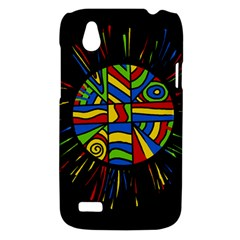 Colorful bang HTC Desire V (T328W) Hardshell Case