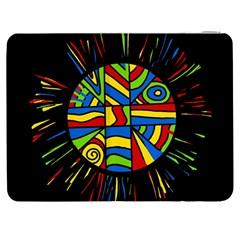 Colorful bang Samsung Galaxy Tab 7  P1000 Flip Case