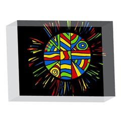 Colorful bang 5 x 7  Acrylic Photo Blocks