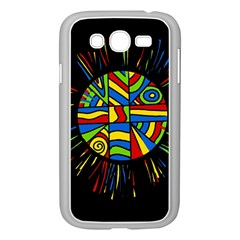 Colorful bang Samsung Galaxy Grand DUOS I9082 Case (White)