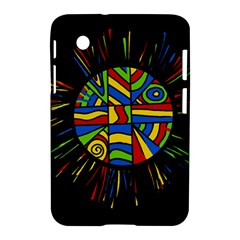 Colorful bang Samsung Galaxy Tab 2 (7 ) P3100 Hardshell Case