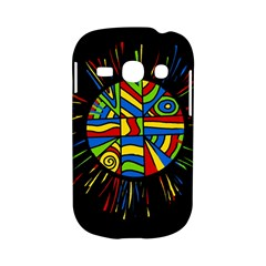 Colorful bang Samsung Galaxy S6810 Hardshell Case