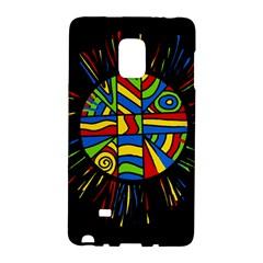 Colorful bang Galaxy Note Edge