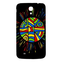 Colorful bang Samsung Galaxy Mega I9200 Hardshell Back Case