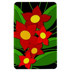 Red flowers Kindle Fire (1st Gen) Hardshell Case