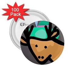 Deer 2.25  Buttons (100 pack)