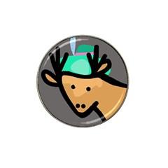 Deer Hat Clip Ball Marker