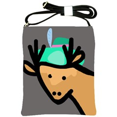 Deer Shoulder Sling Bags
