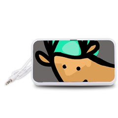 Deer Portable Speaker (White)