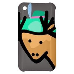 Deer Apple iPhone 3G/3GS Hardshell Case
