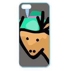 Deer Apple Seamless iPhone 5 Case (Color)