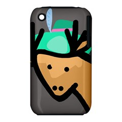 Deer Apple iPhone 3G/3GS Hardshell Case (PC+Silicone)
