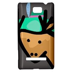 Deer HTC 8S Hardshell Case